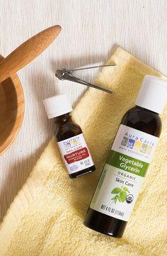 1a672ee96d2 A simple DIY nail soak recipe featuring Aura Cacia Nurture Essential Oil  Blend. Diy Nails