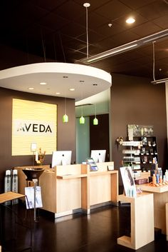Our Aveda Experience Center in our Cedar Hill location