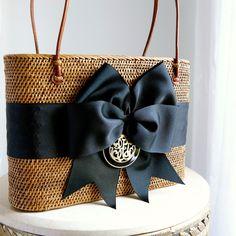 95adb7eb77 Bosom Buddy Bags - Black Monogram Bag