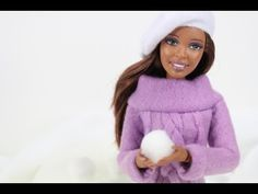 How to Make a Doll Sweater - YouTube