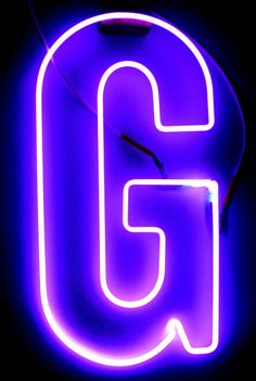 The Letter G by Lite Brite Neon