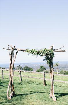Natural Driftwood Arbor $200. ( 2.2 x 1.6 m )  Qty 1.