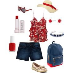 4th of July Picnic, created by patty-mejia-burke on Polyvore