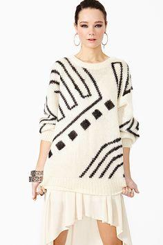 Versace Oversize Knit