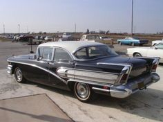 1958 Buick Special.  Now that's chrome. This is like my 5th car. Fast for a large heavy car. Friend introduced it to a light pole. Got two trouble free years out of it.