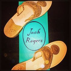 The go-with-everything #JackRogers sandal. #lovemyjacks | From @calicassie41 via Instagram
