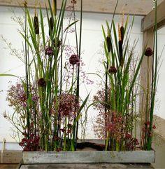 Een [eːn] is a village in the Netherlands. It is part of the Noordenveld municipality in Drenthe. Een has an altitude of 6 meters feet). Modern Floral Arrangements, Beautiful Flower Arrangements, Beautiful Flowers, Deco Floral, Arte Floral, Flower Show, Flower Art, Arreglos Ikebana, Hotel Flowers