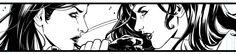 WIP First sneak peek of my pages for DC - #WonderWoman VS #SuperWoman Art by Laura Braga