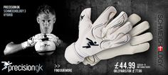 """The Precision GK Schmeichology 3 Hybrid goalkeeper gloves is a part of the third incarnation of the goalkeeping glove range designed by the Leicester City and Denmark keeper Kasper Schmeichel. Each year Precision Goalkeeping team up with goalkeeper Kasper Schmeichel to create the Precision GK """"Schmeichology glove collection"""""""