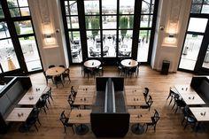 Brasserie de Montbenon Lausanne, Ernest, Decoration, Austria, Switzerland, Conference Room, Germany, Spaces, Table