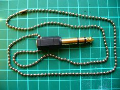 Adaptor Necklace: DIY Jewelry For Men  >>> Wow!!! How come.