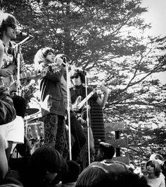 Jefferson Airplane, 1960s, Grace Slick (Center), Jorma Kaukonen (Right), Paul Kantner (Left).