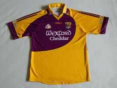 O'NEILLS WEXFORD GAA GAELIC HURLING FOOTBALL SHIRT JERSEY MENS LARGE #fashion #sports #memorabilia #moresportsmemorabilia #gaelicsportsmemorabilia (ebay link)