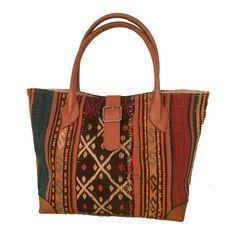 Weekender Bag Boho Style Tote Bag Chic Woman by TheOrientBazaar
