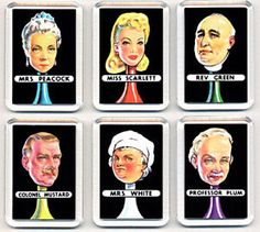 Image result for classic cluedo weapons