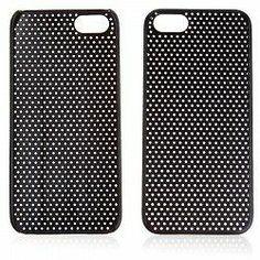 Schutzhülle Apple iPhone 5 Schutz Hülle Tasche Case Shellcase Design schwarz