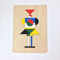 Lovely wooden puzzle made by Jamie Jones.