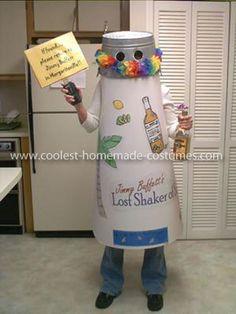 Coolest Jimmy Buffett's Lost Shaker of Salt Costume