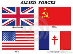 world war 2 flags of countries