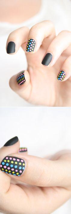 Ciaté chalkboard nail art