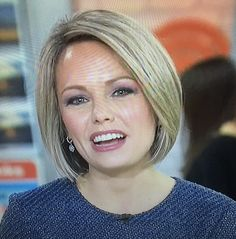 Dylan Dreyer on TODAY, 1-18-16, front of hair