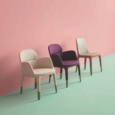 Ester armchairs / Patrick Jouin