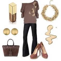 She Loves Brown, created by blue-star-marie.polyvore.com