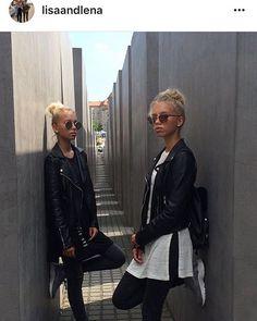 Hey Lisa und Lena, warum man sich nicht ganz cool im Holocaust Mahnmal in Berlin für Instagram fotografieren sollte, kann Euch bestimmt mal Eure Geschichtslehrerin erklären...