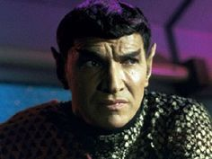 Balance of Terror~Mark Lenard. Saw this episode in '70 and was forever hooked.  Mark also played Spocks father in many episodes and the ST movies.