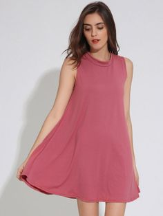 Casual women pure color o-neck summer sleeveless mini dress casual dress vs #a #casual #dress #casual #dresses #express #casual #dresses #to #wear #to #a #wedding #dress #casual #yet #professional