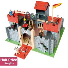 Buy Camelot Castle Package from Mulberry Bush, an online toyshop for traditional and wooden children's toys, gifts and games