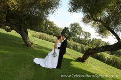 Romantic wedding photo #weddingphotography #lehighvalley #berkscounty #centralpa #poconos #celebrationspa #romantic #brideandgroom www.celebrationsdjphoto.com