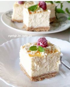 Cheesecakes, I Foods, Vanilla Cake, Lunch, Cooking, Fit, Recipes, Gastronomia, Cake Ideas