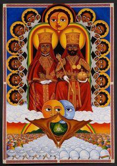 The Gathering - The Art of the Journey to The Roots of Rastafari Art Rasta, Rastafari Art, History Of Ethiopia, Rastafarian Culture, Reggae Art, Afrique Art, Haile Selassie, African Royalty, Dancehall Reggae