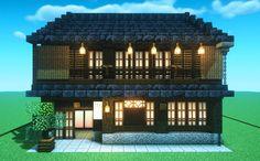 Minecraft Japanese House, Minecraft House Plans, Minecraft Houses Survival, Minecraft Blueprints, Cool Minecraft, Minecraft Creations, Minecraft Projects, Minecraft Designs, Minecraft Crafts