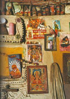 from a Taschen book, Indian Interiors