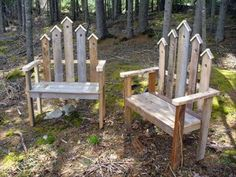 Pallet Outdoor Furniture Building benches is for the birds! In addition to woodworking, I also enjoy gardening. Here's plans on how to make a Birdhouse Bench for the garden. Pallet Crafts, Diy Pallet Projects, Outdoor Projects, Wood Projects, Pallet Ideas, Old Pallets, Recycled Pallets, Wooden Pallets, Pallet Wood