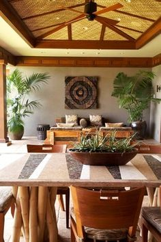 Hawaiian Home Full Of Delicious Style And Views