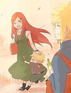 Uzumaki family, by Pixiv Id 5697311 Uzumaki Family, Hirunaka No Ryuusei, Naruto Images, Family Images, Image Boards, Princess Zelda, Gallery, Cute, Anime
