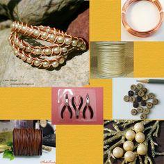 Gunadesign guna andersone Supplies for Lord of Leather Bracelet