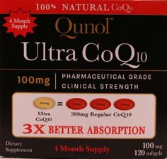 Buy Qunol Ultra - Soluble - Better Absorption Coenzyme - 240 Softgels Month Supply), , Qunol, Health and Beauty Heart Health Supplements, Health And Beauty, Health And Wellness, Coenzym Q10, Mountain Bikes For Sale, Natural Health, Health Benefits, Vitamins, The 100