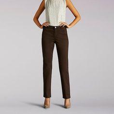 Lee Women's Classic Fit Vivian Straight Leg Jeans (Size 10 Slim)