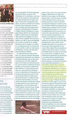 'A liña política', de Santos Díaz, en la crónica del Festival de Cine de Locarno de Eulàlia Iglesias para 'Caimán. Cuadernos de cine' (septiembre 2016). #Digital104FilmDistribution