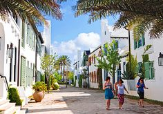 Seaside towns along a secret stretch of Northwest Florida offer laid-back living.