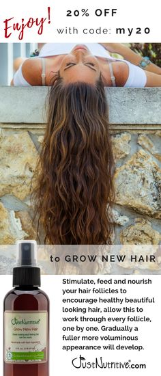 Exclusively formulated with more than 30 ingredients not found in any other product. These ingredients have been used since ancient times to improve the look, feel and appearance of hair.