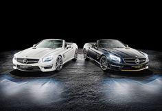 Mercedes Benz Unveils SL 63 AMG World Championship Editions