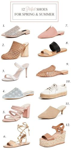 ce81e236ab4a75 12 Perfect Shoes for Spring and Summer