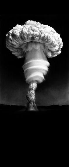 ♥ Nevada, Nuclear tests - Robert Longo