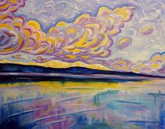 Sunrise On The Comox Glacier - By Morgan Ralston, 2012.