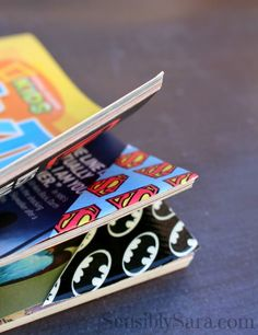 Duct Tape Bookmarks. Simple to make and fun for everyone.